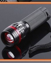 Zoomable Adjustable Focus CREE LED Alloy Flashlight 200